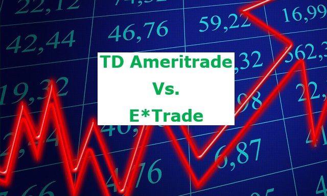 TD Ameritrade vs ETrade