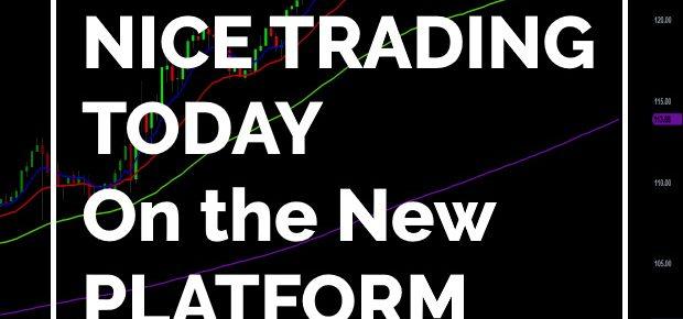 TradeStation Platform Trading in the Green