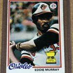 Eddie Murray Rookie Card 1978