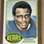 Walter Payton Rookie Card 1976